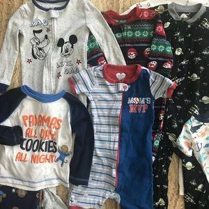 😴 Bundle of 24m/2T Boys Pajamas 😴